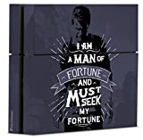 Uncharted 4: A Thief's End Officially Licensed PS4Console Skin Fortune Seeker - PlayStation 4 by Controller Gear