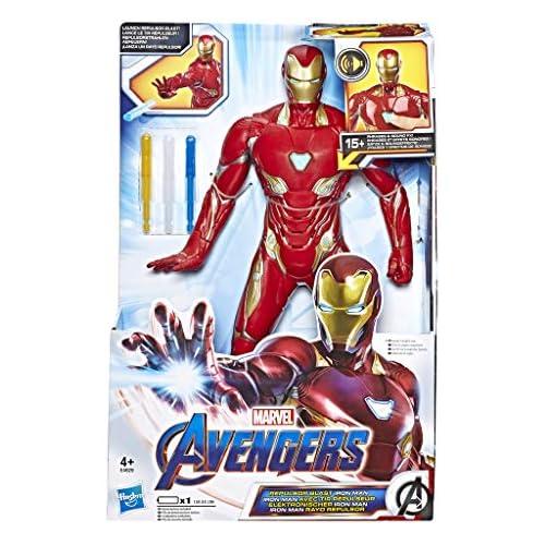chollos oferta descuentos barato Avengers Iron Man Figura Electrónica Hasbro E4929105