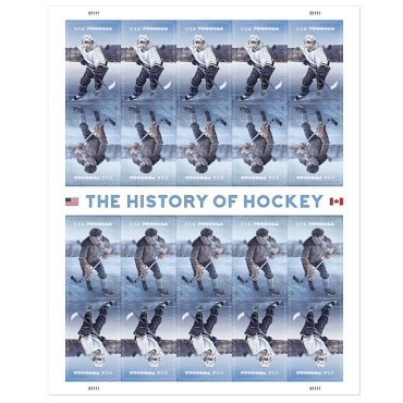 USPS Forever Postage Stamps: History of Hockey