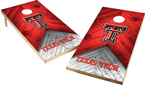 Wild Sports NCAA College 2'x4' Texas Tech Red Raiders Cornhole Set