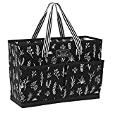 SCOUT BJ BAG, Large Tote Bag for Women with 4 Exterior Pockets and Interior Zippered Compartment, Perfect Utility Tote Bag with Pockets for Teachers and Nurses