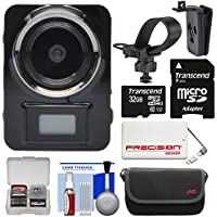 Vivitar DVR906HD HD LifeCam Digital Video Camera Camcorder Body Cam with 32GB Card + Case + 5000mAh Power Bank Charger + Kit