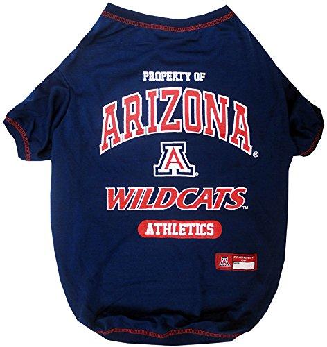NCAA University of Arizona Wildcats Dog T-Shirt, Small ()