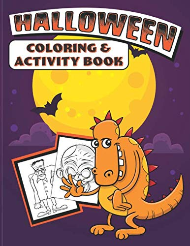 Halloween Coloring & Activity