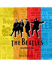 Buzz Publisher - The Beatles Calendar 2022: Legendary Rock Pop Band 12-Month Premium Full Colored Pages   Classroom, Home, Office Supplies