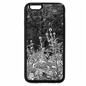 iPhone 6S Plus Case, iPhone 6 Plus Case (Black & White) - Forest
