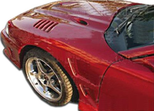Duraflex ED-USC-425 Velocity Fenders - 2 Piece Body Kit - Compatible For Ford Mustang 1994-1998