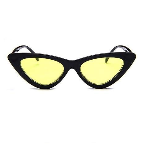 Occhio di gatto occhiali da sole, Letone Cat Eye occhiali da sole per sport donne, Retor Goggle per adolescenti, Black-Orange