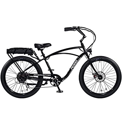 Pedego Classic Interceptor III Electric Bicycle - Black - 48V 15Ah