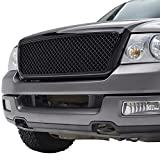 E-Autogrilles Black ABS Ford Grille Grill with Shell for 04-08 Ford F-150