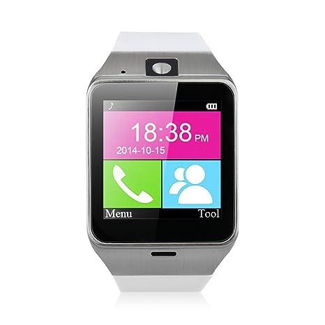 NFC Bluetooth inteligente con cámara reloj libre SIM Watch Phone Sync llamadas Música Notas antipérdida Teléfono
