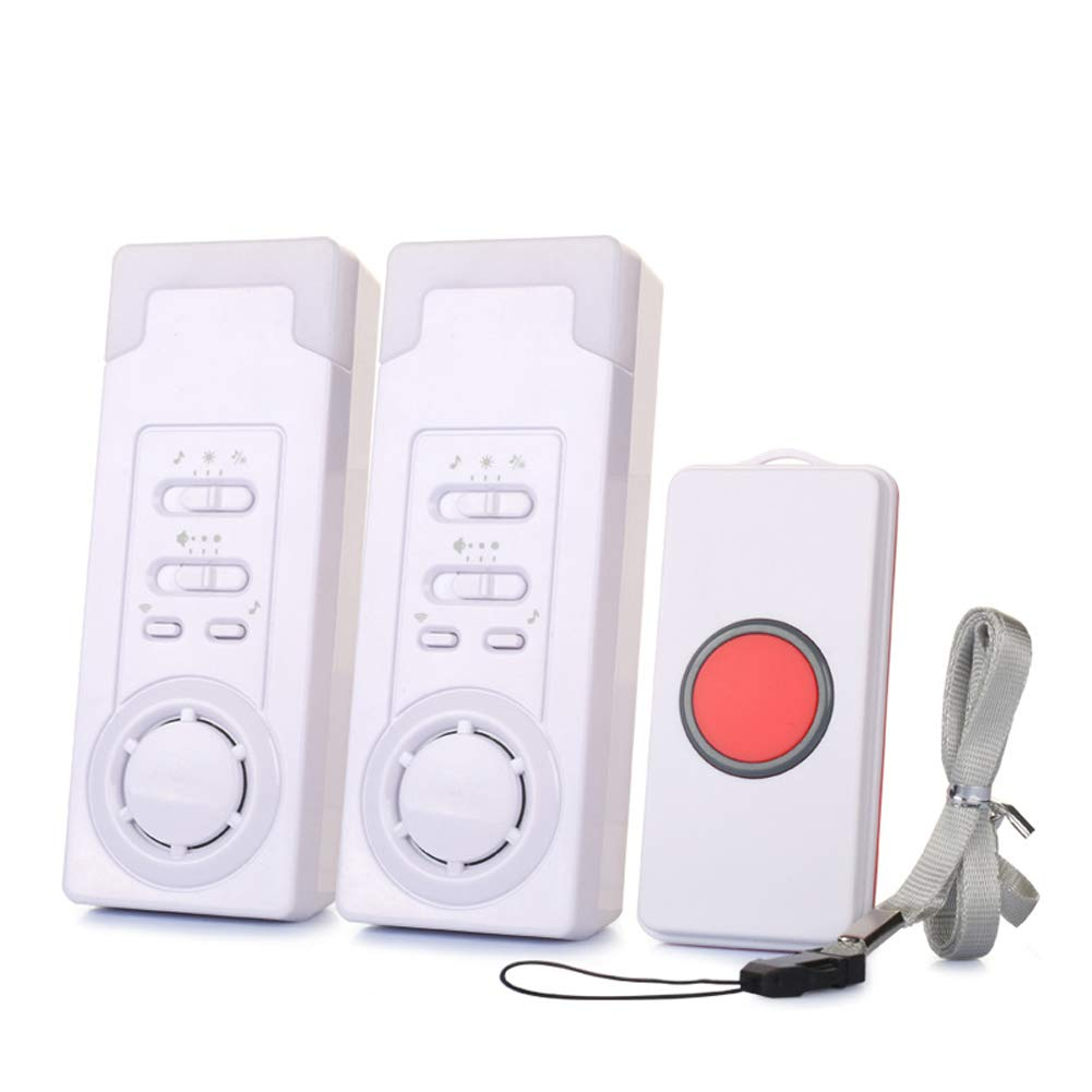 DishyKooker Wireless Call Home Elderly Patient Emergency Long Distance Wireless Call Device 1 to 2