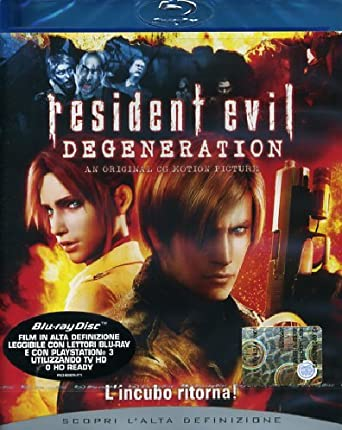 resident evil. degeneration blu-ray regia di mak Italia Blu-ray: Amazon.es: vari, vari, vari: Cine y Series TV