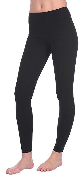 Womens Full Length Cotton Leggings UK Size 8-28