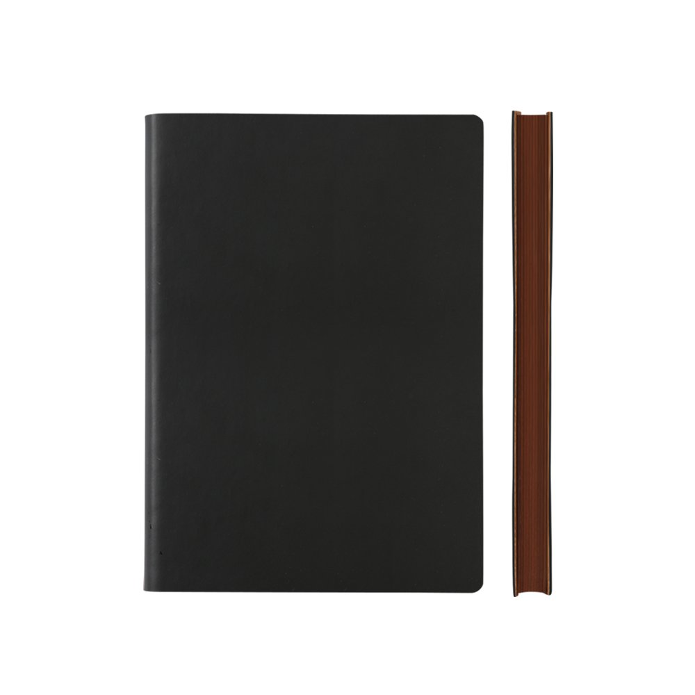 Daycraft Signature BUSINESS STUDENT Notebook Journal - A5, Black, LINED - 8.3'' x 6'' by Daycraft