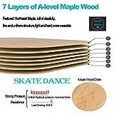 AsFrost Portable Roller Road Drift Skates Plate