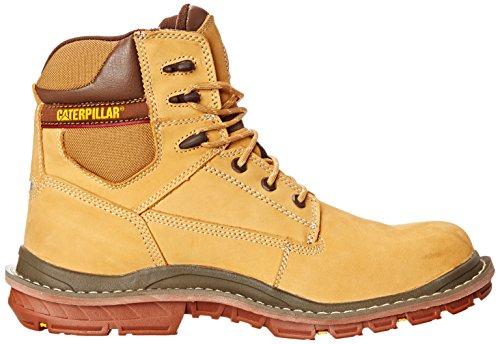 Caterpillar Hommes Fabriquent 6 Pouce Imperméable À Leau Comp Toe Travail Boot Honey Reset