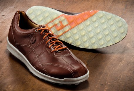 FootJoy Versaluxe Casual Spikeless Golf Shoes Brown 12 Medium by FootJoy