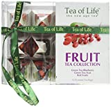 Tea Of Life 12 Piece Super Fruit Tea Gift Collection, 2 Ounce