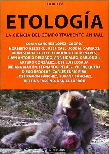 Etología. La ciencia del comportamiento animal Manuales: Amazon.es ...