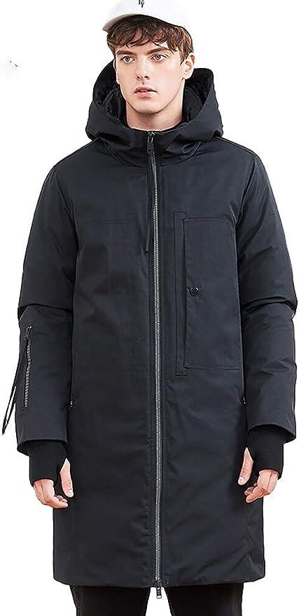 GYXYYF Daunenjacke Für Männer Kleidung Lange Winter Dicke