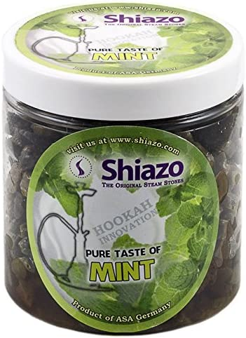 Verde sustitutivo de Steam Stones Shisha de Shisha Huka Flavours no es el Sheesha marrón 250 G