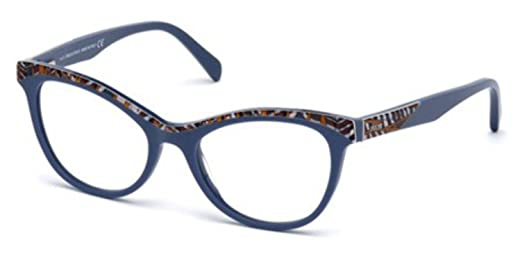 amazon co jp eyeglasses emilio pucci ep 5036 ep5036 092ブルー 他