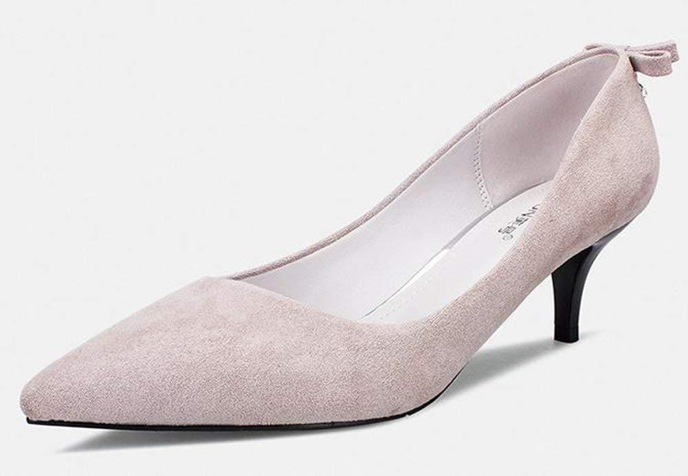 Oudan eine Frau für gut mit den High High High Heels (Farbe   Mauve Rosa Größe   EU 40) 428967
