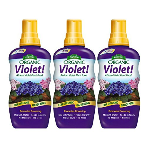 t! African Violet Plant Food, 8 oz Concentrate - 3 Pack (1 African Violet Plant)