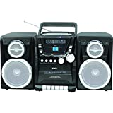 Naxa Portable CD Player with AM/FM Stereo Radio Cassette Player/Recorder & Twin Detachable Speakers consumer electronics
