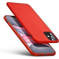 Proze iPhone 11 Phone Case, Schlanke Weiche Silikonhülle für iPhone 11 (6.1) Rot