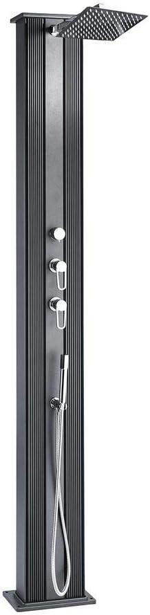 Formidra DADA STRAIGHT Hybride Douche Douche solaire 40 L Aluminium Douche Piscine