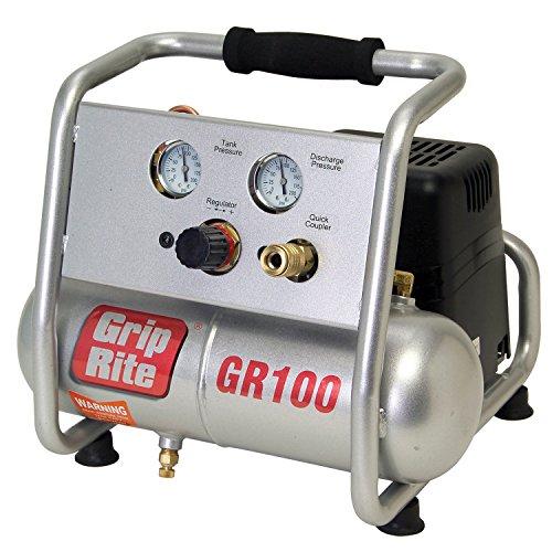 Grip-Rite GR100 1HP 1 Gallon Portable Compressor
