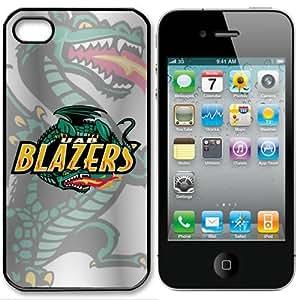 linJUN FENGNCAA Alabama Birmingham Blazers Iphone 4 and 4s Case Cover