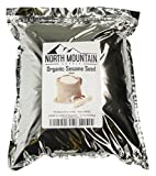 North Mountain Supply Organic Raw Sesame Seed Hulled - Produced in India (5 Pounds)