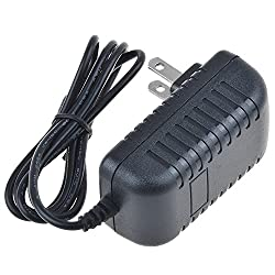 SLLEA AC/DC Adapter for iHome iP88 iP88GK iP88GC Dual Alarm Clock Radio iPhone Dock Power Supply Cord Cable PS Wall Home Charger Mains PSU