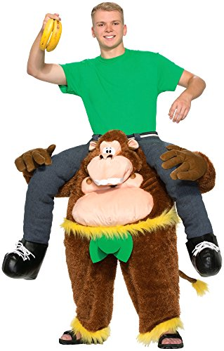 [Forum Novelties Men's Monkeyin' Around Costume, Multi, Standard] (Funny Gorilla Costume)