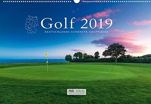 Golfkalender 2019: Mit Greenfee-Ermäßigungen - Deutschlands schönste Golfplätze (62 x 42)