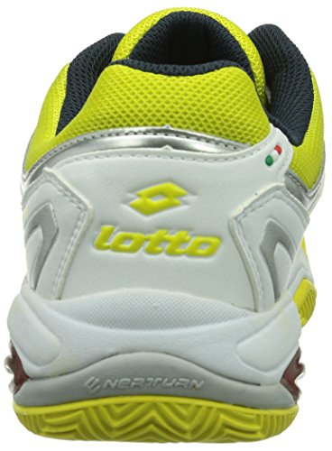 Lotto Sport VECTOR VI W Damen Tennisschuhe Mehrfarbig (WHITE/CHICK)