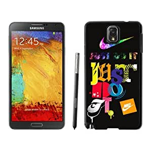 Fahionable Custom Designed Samsung Galaxy Note 3 N900A N900V N900P N900T Cover Case With Nike 2 Black Phone Case