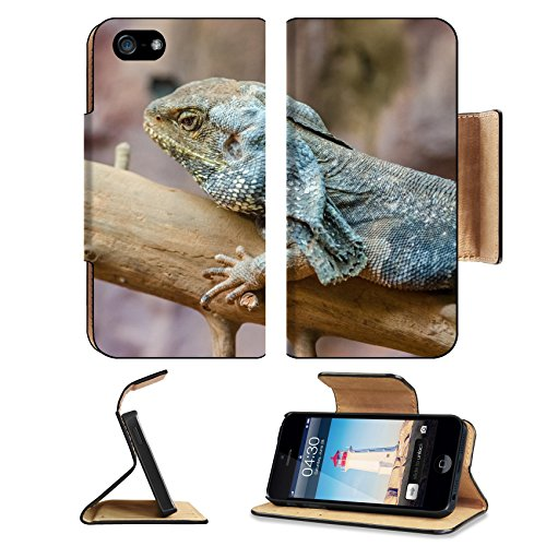 MSD Premium Apple iPhone 5 iphone 5S Flip Pu Leather Wallet Case iPhone5 IMAGE 20988032 Frilled Lizard