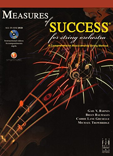 SB307CG - Measures of Success for String Orchestra - Curriculum Guide - Book 1