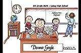 Personalized Friendly Folks Cartoon Side Slide Frame Gift: Teacher, High School - Female Great for middle, intermediate, high school teacher