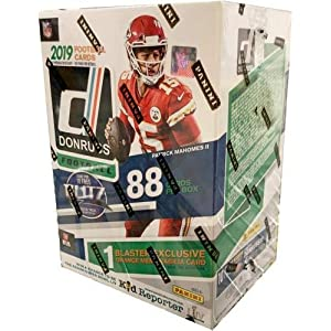 2019 Donruss Football Factory Sealed 11 Pack Blaster Box – Fanatics Exclusive – Football Wax Packs