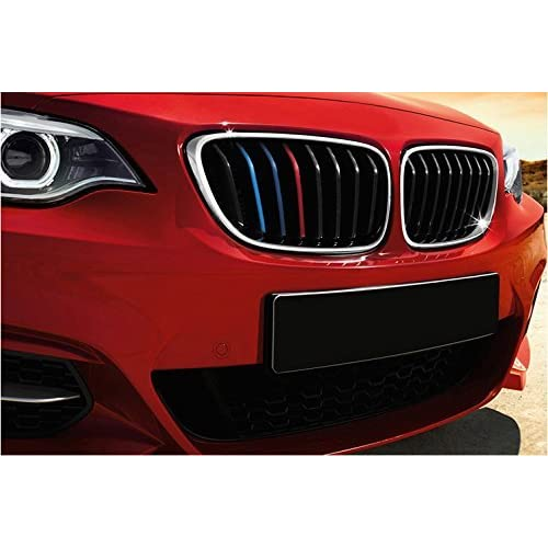 free shipping Fastgo Reflective Colored bmw kidney grille