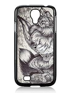 Recommend Design Ablaze Cute Samsung Galaxy S4 I9500 TPU Black Phone Case