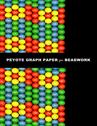 Peyote Graph Paper for Beadwork: specialized graph paper for designing your own unique peyote bead patterns for jewelry.
