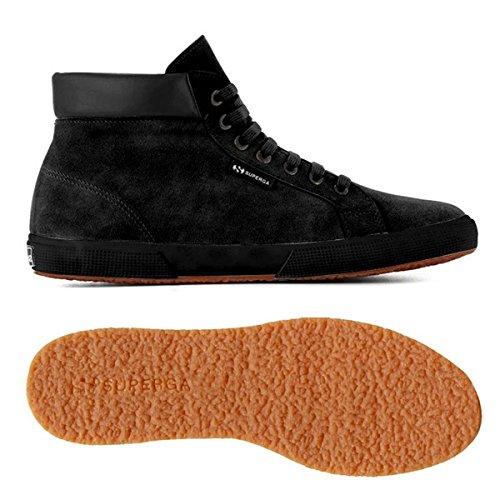 suem 2204 Superga Sneaker Full Black Uomo f5wqgq