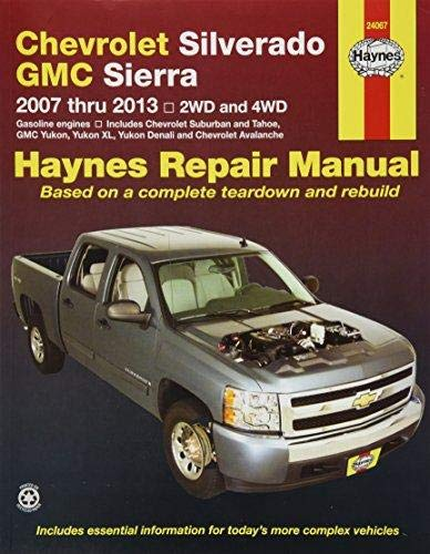Haynes 24067 Chevy Silverado & GMC Sierra Repair Manual (2007-2014)