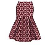 Beeatree Women Africa Short Cotton Batik Dashiki Mermaid Club Bodycon Skirt 2 3XL